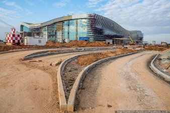 Стройка Века–2. Как строят новый крымский аэропорт