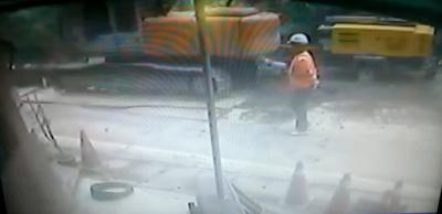 Взрыв трубопровода на Тайване (2 февраля 2015)