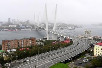"""Тайфун """"Майсак"""" принес ураганный ветер во Владивосток"""