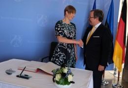 Президент Кальюлайд в Германии: эстонцы ценят ЕС