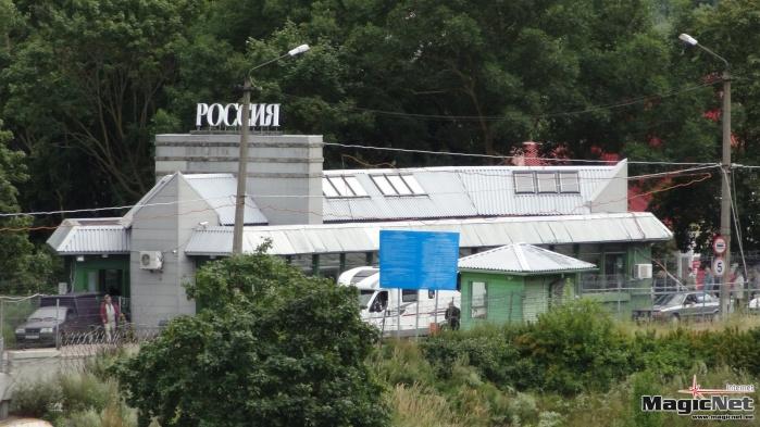 У гражданина Израиля на границе в Ивангороде изъяли детали оружия
