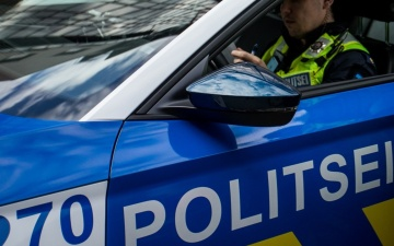 В Нарве на улице Кереса автомобиль сбил женщину и уехал с места ДТП