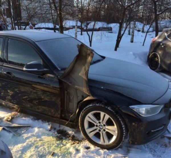 Варварский способ кражи бачка омывателя фар с BMW 3-Series