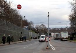 На границе в Нарве возникла пробка