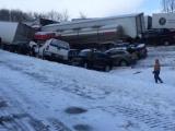 Крупная авария с участием полусотни машин
