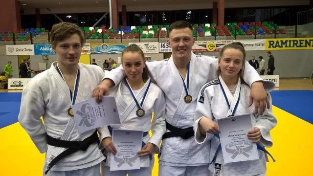 Представители «Буффен-до» завоевали четыре медали на чемпионате Эстонии