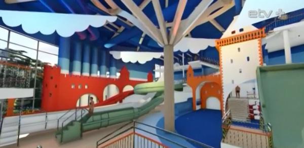 В Нарва-Йыэсуу планируют построить современный аквапарк