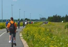 Велодорожка: пока в укороченном виде