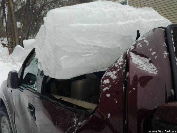 Последствия необдуманной парковки