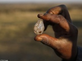Деревню в Южной Африке охватила «алмазная лихорадка»