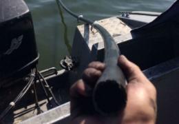 Украинские пограничники обнаружили подводный спиртопровод из Молдовы