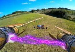В США появилась лига гоночных дронов