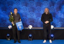 Николай Бурдаков и Виктор Нещеретный получили награды за вклад в развитие эстонского футбола