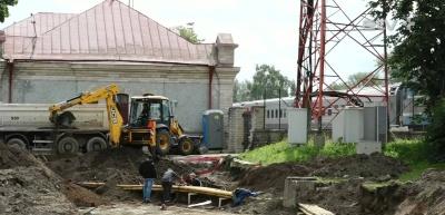 Сохранение булыжной мостовой возле вокзала в Нарве обойдется в 50 000 евро