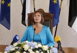 Президент Эстонии начнет свою работу в Нарве со встречи с мэром и прогулки по променаду