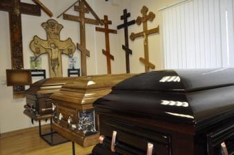 Грабителю похоронного бюро не удалось притвориться покойником