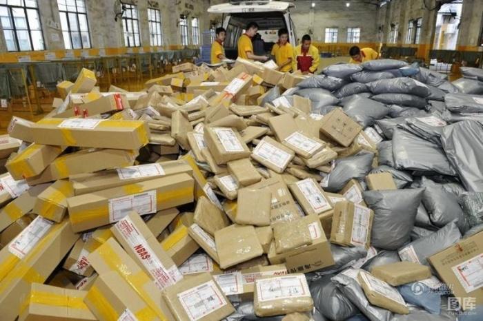 Канун 11 ноября - ад для работников китайской почты