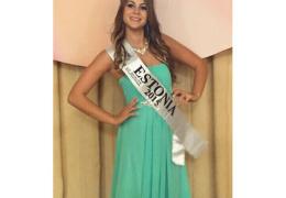 Мисс Нарва 2015, представлявшая Эстонию на конкурсе красоты на Тайване