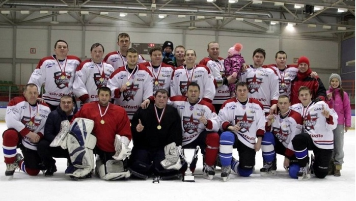 Нарвские хоккеисты-любители стали победителями международного турнира