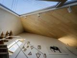 Треугольный дом в Японии