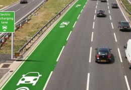 В Великобритании могут появиться «электрические» дороги