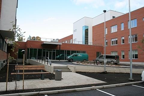 Больничный комплекс в Нарве расширяется