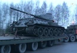 Эстонский военный музей получил в подарок от Польши танк Т-34