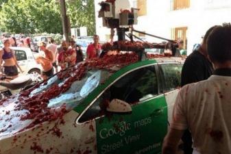 Гугло-машина в помидорах