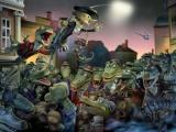 Старые герои мультиков на новый лад (14 рисунков)