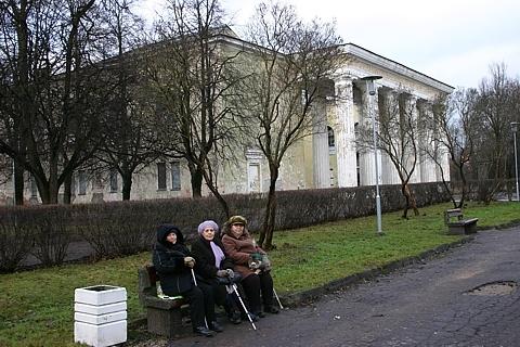 Парк у ДК Герасимова попробуют восстановить на средства европейской программы