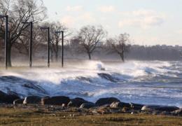 На Эстонию надвигается очередной шторм