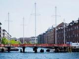 Круговой мост Cirkelbroen в Копенгагене