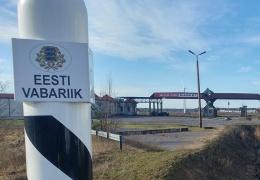 Охрана эстонско-латвийской границы стоила почти 100 000 евро в неделю