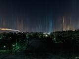Санкт-Петербург с редкостным природным явлением