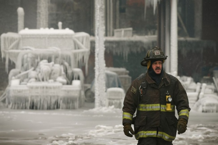 Чикагское ледяное пожарище