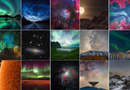 Лучшие фотографии в области астрономии 2017.