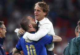Тренер сборной Италии Манчини: у меня нет слов, чтобы описать все это