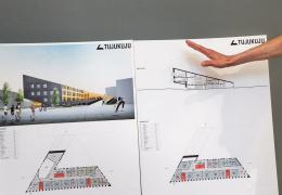 Здание Йыхвиской основной школы обещают построить к новому учебному году
