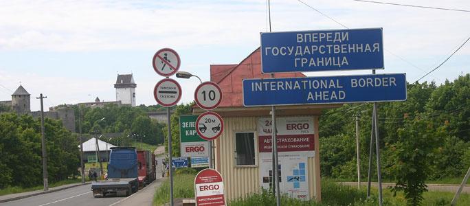 За последние десять дней в Эстонию через Нарву прибыли 56 300 человек