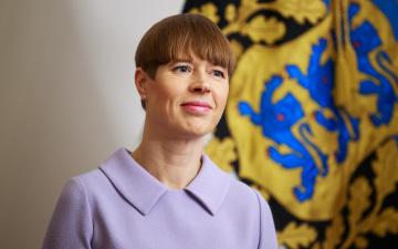 Кальюлайд провозгласила закон об упрощенном получении эстонского гражданства детьми