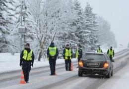 За последние сутки на дорогах Эстонии выявили 15 пьяных водителей