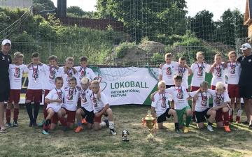 Юные нарвские футболисты будут представлять страны Балтии в Москве