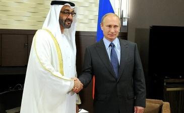 Кремль: Путин обсудит Сирию с наследным принцем Абу-Даби