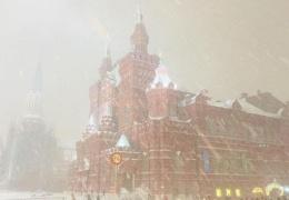 В Москву пришла весна