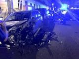 Во время гонки стритрейсер разбил одиннадцать элитных автомобилей