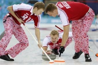 Российские керлингисты дебютировали на Играх