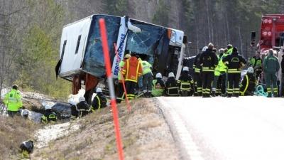В Швеции попал в ДТП автобус со школьниками: 3 погибших, свыше 50 пострадавших
