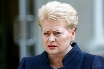 Президент Литвы Даля Грибаускайте призвала быть готовыми к нападению России