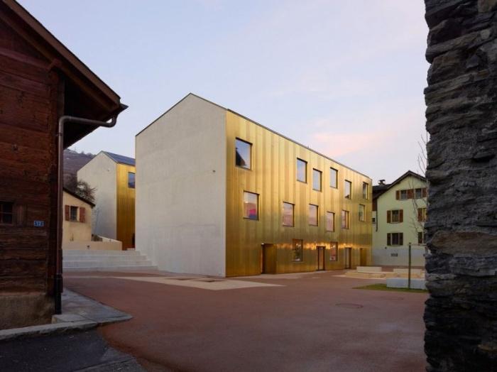 Детский сад и ясли в Швейцарских Альпах