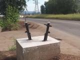 В Братске установили памятник подвеске